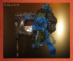 HANDMADE VENETIAN MASK - Authentic - FREE SHIPPING and FREE INSURANCE - $115.00