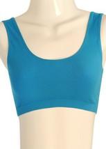 Cotton Sports Bra (Large/Xlarge, Blue) [Apparel] - $5.93