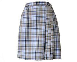 Stylish Women's Golf & Casual Tan Short Sleeve Mock Polo, Rhinestone Zipper  image 7