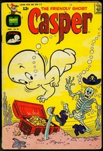 FRIENDLY GHOST, CASPER COMICS #91 1966-SKELETON-PIRATE COVER G/VG - $18.62