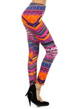 Women's Abstract and Animal Printed Leggings (One Size, Water Color) [Ap... - $15.83