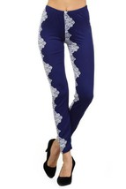 Multi Floral Print Leggings (one size, Bandana) [Apparel] - $15.83