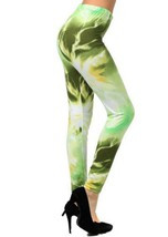Yelete - Women's Outer Space Galaxy Fashion Printed Leggings- Free Size (one ... image 2
