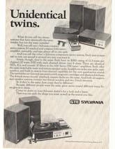 1972 GTE Sylvania Advertisement - $16.00