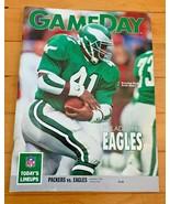 Philadelphia Eagles Vs Green Bay Packers Gameday Program..9/1/1991..Keit... - $9.89