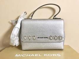 NWT Michael Kors Jewel Small Messenger Bag Saffiano Leather $348 - $224.42