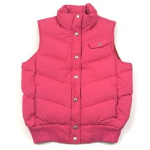 GAP Womens Puffer Vest DOWN Gilet Insulated Sleeveless Mock Snap Button ... - $27.44
