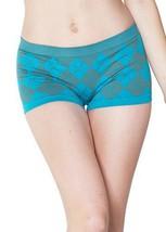 Cotton Blend Argyle Boy Shorts (free size, Blue) [Apparel] - $5.93