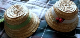 Doll Hats - 2 Hats - $8.95