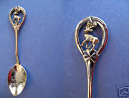 SMITHERS BC. Souvenir Collector Spoon Collectible DEER Charm Canada Vintage - $4.95