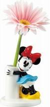 Disney Minnie Mouse Vase Porcelain Flower Stand Ikebana Desk Pot from Japan - $58.41