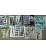 Lot of Unused Collectible Stamps 32 29 cent Marilyn Monroe James Dean Am... - $135.21