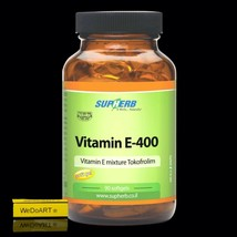 SUPHERB Vitamin E-400 | 90 softgels  powerful antioxidant  - $39.60