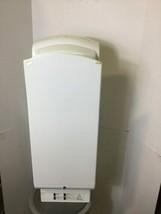 New Mitsubishi White Electric Air Blast Hand Dryer Model# JT-SB116EH-W-CA image 1