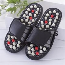 Foot Massage Slippers Men Women Acupuncture Relaxation Sandals Reflex St... - $25.64