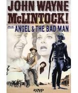 2 DVD Set McLintock! - Angel And The Bad Man (John Wayne) Special Editi... - $10.99