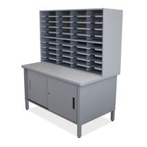 Marvel 40 Slot Mailroom Organizer w/Cabinet 48x... - $881.99