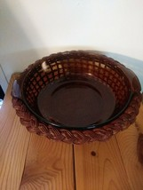 Anchor Ovenware Casserole Dish with Woven Basket 2 Qt. - $28.49