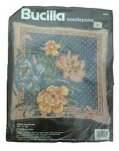"Vintage Bucilla Floral ""Spring Collection"" Needlepoint Kit ~ Sealed - $21.42"