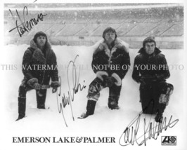 EMERSON LAKE AND PALMER BAND AUTOGRAPHED 8x10 RP PHOTO CLASSIC ROCK N ROLL - $13.99