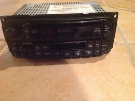 CHRYSLER CD/TAPE PLAYER/RADIO P05064300AD 2004 300M - $65.00