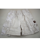 Oshgosh 2T Boys Khaki Shorts w/ Pockets elastic... - $7.50