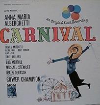 CARNIVAL Anna Maria Albergetti LP Album E39460C - $2.96