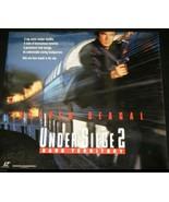 UNDER SIEGE 2 DARK TERRITORY Laserdisc Warner Video 1996 - Steven Seagal - $10.39