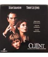 THE CLIENT Laserdisc SUSAN  SARANDON, TOMMY LEE JONES - $5.99