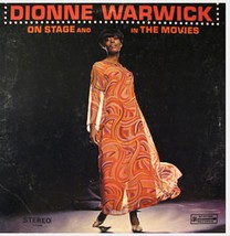 Dionne Warwick ON STAGE And In The MOVIES LP SPS 559 - $3.00