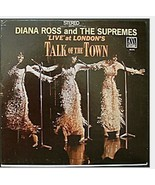 DIANA ROSS AND THE SUPREMES TALK OF THE TOWN  Stereo LP Album MS 676 - $2.96