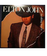 Elton John BREAKING HEARTS LP Album - $2.96