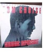 MISSION IMPOSSIBLE  Laserdisc WIDE SCREEN EDITION - $6.43