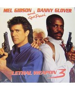 LETHAL WEAPON 3 Laserdisc Wide Screen Edition - $8.41