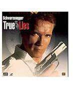 TRUE LIES Laserdisc SCHWARZENEGGER - $7.42
