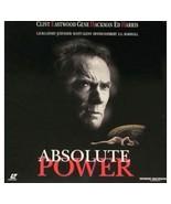 ABSOLUTE POWER Laserdisc WIDESCREEN EDITION - $7.42