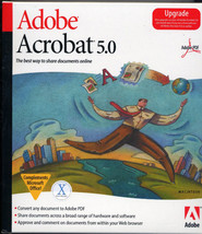 ADOBE ACROBAT 5.0 Upgrade MAC Vintage - $9.99