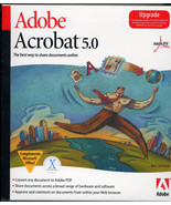 ADOBE ACROBAT 5.0 Upgrade MAC Vintage - $9.99