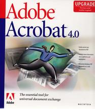 Adobe Acrobat Professional 4.0 Upgrade MAC - $9.99