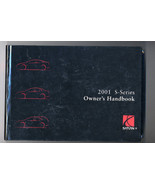 Saturn 2001 S-Series Owner's Handbook - $9.99