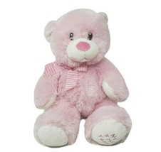 """13 """" Ty Pluffies 2013 Rose Mon Premier Nounours Ours Doux Bébé Animal en Peluche - $36.29"""