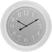 "Westclox 33095W 22"" White Wall Clock - $42.11"