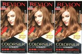 (3) Revlon Luxurious Colorsilk Buttercream 80/73N Medium Natural Blonde ... - $31.67