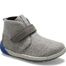 Merrell Boys' Bare Steps Boot Chukka, Grey/Stormy Kromer, 10.0 M US Toddler - $51.11