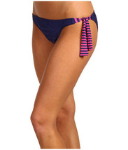 NWT Splendid Malibu Stripe Retro Pant With Ties S Bikini Bottom - $14.98