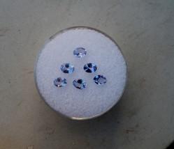 6 tanzanite oval gems 4 x 3mm each - $24.99