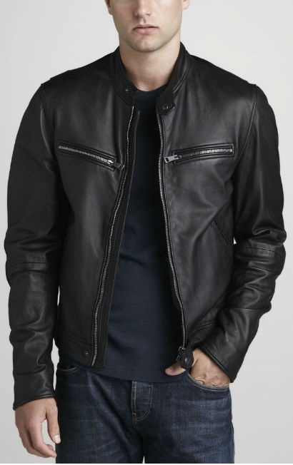 Mens Leather Jacket, Mens biker leather jacket, bomber leather jacket mens for sale  USA
