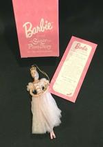 Barbie As The Sugar Plum Fairy First in Series Porcelain Ornament 1997 by Avon - $14.99