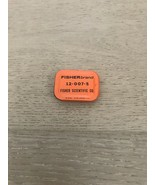 Vintage Rare FISHER SCIENTIFIC  CO FISHER brand tin 12 - 007 - 5  orange... - $15.00