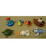 Disney The Little Mermaid Moveable Toys set of 7 - $27.24